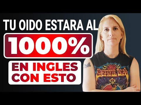 TU OIDO AL 1000% EN INGLES, EDUCA TU OIDO ESCUCHANDO ESTO