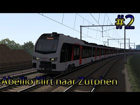 Testrit Abellio Flirt naar Zutphen - Train Simulator 2017 (Livestream #2)
