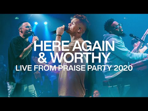 Here Again & Worthy  Live From Praise Party 2020  Elevation Worship