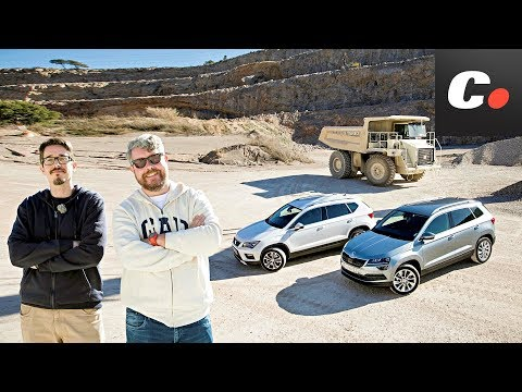 Skoda Karoq vs Seat Ateca 2018 SUV | Comparativa | Prueba / test / review en español | coches.net