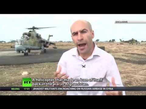 How Mi-24 gunboats guarding Russia's hub of anti-ISIS ops
