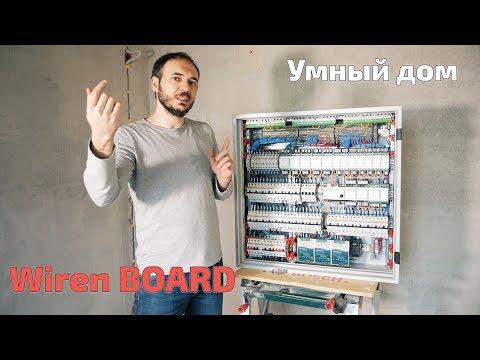 Щит с Wiren Board   Умный дом   Арт Проект + electro.moscow photo