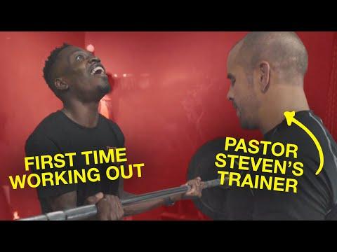 Davide vs. Pastor Steven Furtick's Personal Trainer ** WORKOUT FAIL**  ELEVATION YTH