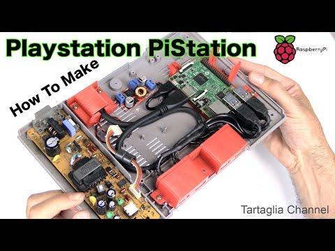 PiStation - Tutte le retro console dentro una Playstation??   Raspberry e retropie - UCwMjr5HocO6S363x_-jzsmA