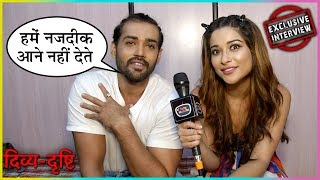 Karan Khanna And Nayra Banerjee Talks About Their On Screen Chemistry | Divya Drishti | EXCLUSIVE