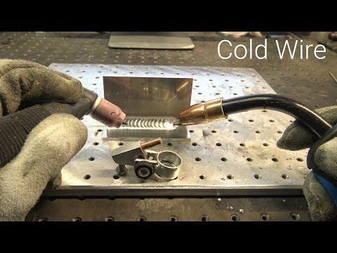 TIG Welding &  MIG Welder at the Same Time - Using Wire Instead of Filler Rod - UCcuMSDG2svjR7BncF841GJg