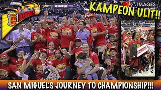 SAN MIGUEL BEERMEN KAMPEON ULIT!! (JOURNEY TO CHAMPIONSHIP) COMM'S CUP 2019 PBA NEWS & UPDATES