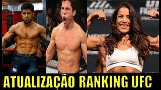 ATUALIZAÇÃO DO RANKING DO UFC: Peso Mosca respira / Juliana Penã volta no top 5