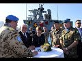 German President visits MTF ship