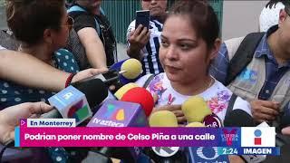 Proponen nombrar 'Celso Piña' a una calle de Monterrey | Noticias con Yuriria Sierra