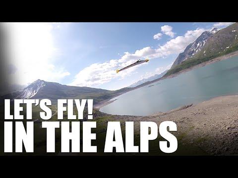 Flite Test | Let's Fly! In the Alps - UC9zTuyWffK9ckEz1216noAw