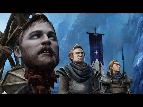 Little Ryon Holds His Brother's Head on Spike (Game of Thrones | Telltale | Episode 6 | Asher) - default