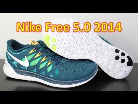 Nike Free 5.0 2014 Nightshade - Unboxing + On Feet  591aa6135