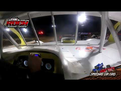#17 Steve Stollings - Crate Late Model - 10-2-21 Rockcastle Speedway - In-Car Camera - dirt track racing video image