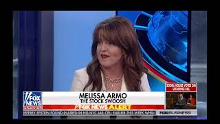 Melissa Armo | The Stock Swoosh | Fox News | Your World with Neil Cavuto