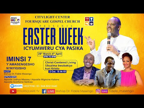 LIVE// EASTER WEEK DAY 2 WITH Pastor PADDY MUSOKE  - 30.03.21