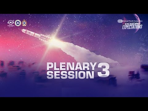 RCCG YOUTH CONVENTION 2021 - PLENARY SESSION 3  DAY 2