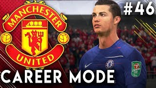 FIFA 19 Manchester United Career Mode EP46 - Ronaldo Returns!! Incredible Cup Final!!