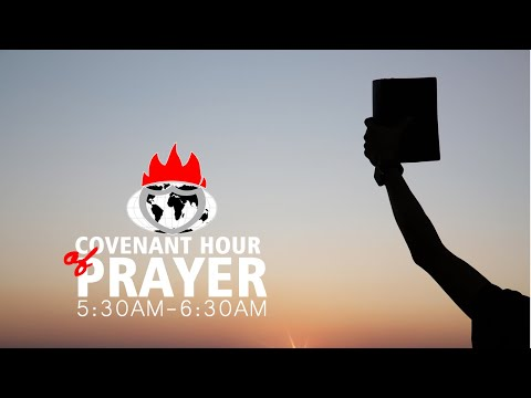 DOMI STREAM: COVENANT HOUR OF PRAYER   3, MARCH. 2020