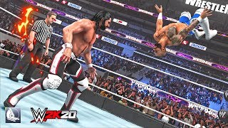 30 insane ddt variations in WWE 2K19