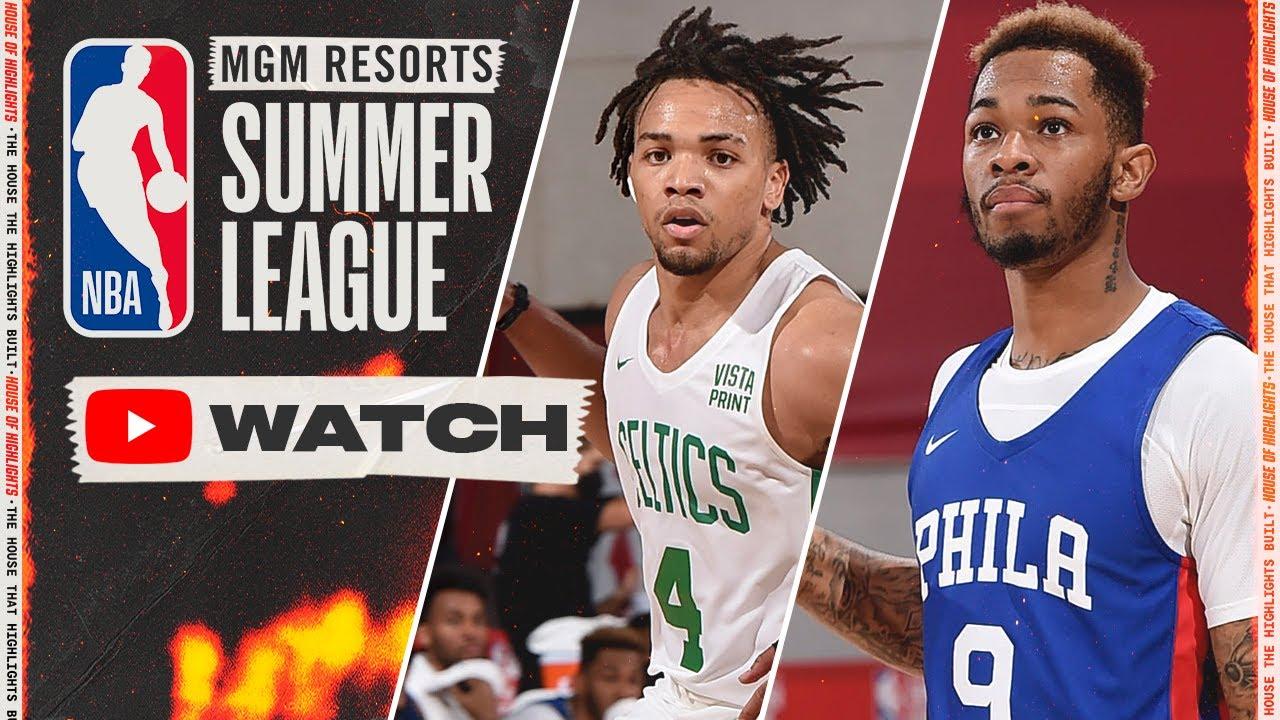 Philadelphia 76ers vs Boston Celtics – Full Highlights | August 14, 2021 NBA Summer League