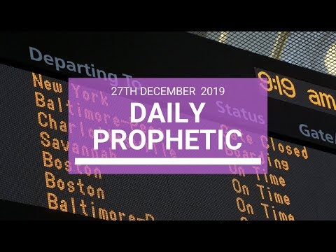 Daily Prophetic 27 December 3 of 4