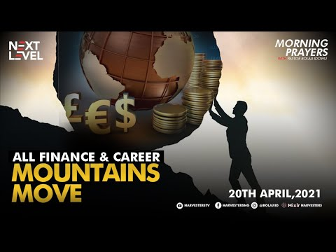 For  Business, Career, Finance and Entertainment Sector   Pst Bolaji Idowu  20th April 2021