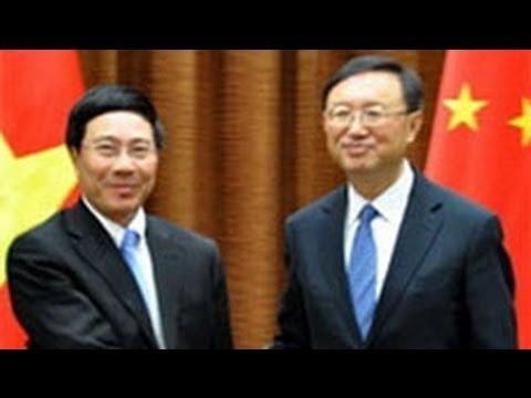 Ngoại trưởng Việt Nam đến Bắc Kinh.