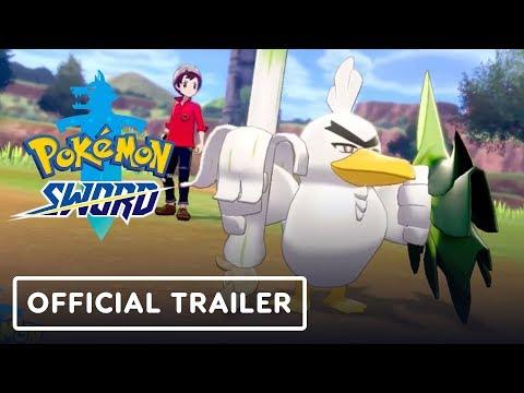 Pokémon Sword - Sirfetch'd Official Trailer - UCKy1dAqELo0zrOtPkf0eTMw