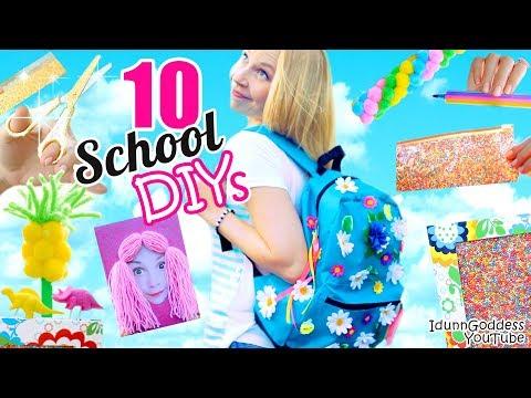 10 Back-To-School DIY Projects - Awesome DIY School Supplies - UC_FNd7A9b0adbxmpuzIm5ZA