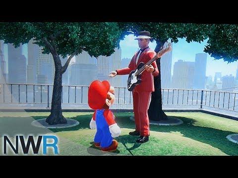 Super Mario Odyssey Finding Pauline's Band (E3 2017) - default