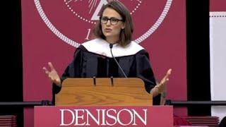 Jennifer Garner's Commencement Speech at Denison University in Ohio
