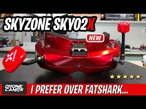 I PREFER THESE OVER FATSHARK - NEW Skyzone SKY02X Fpv Goggles - UCwojJxGQ0SNeVV09mKlnonA
