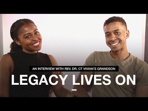 Legacy Lives On  An Interview with Rev. Dr. C.T. Vivians grandson