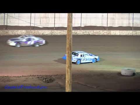 Az Speedway  IMCA Stock Car Main Incidents  75C Car  Oct  9 2021 - dirt track racing video image