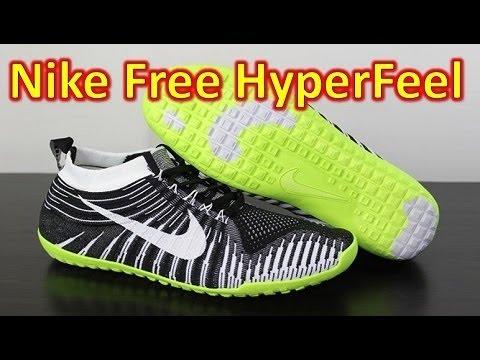 quality design becac c1034 Nike Free Hyperfeel Run Black White Volt - Unboxing + On Feet