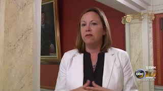 Michigan Supreme Court Justice Megan Cavanagh visits U.P. courts