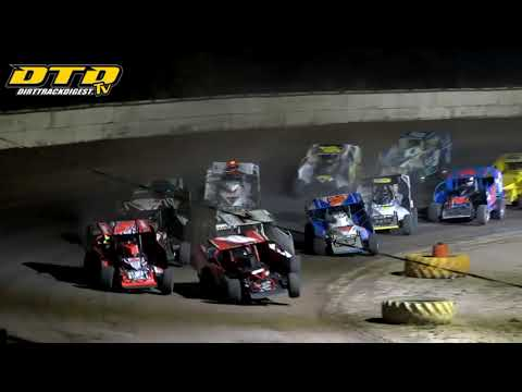 Ransomville Speedway | DIRTcar 358-Modified Feature Highlights | 8/27/21 - dirt track racing video image