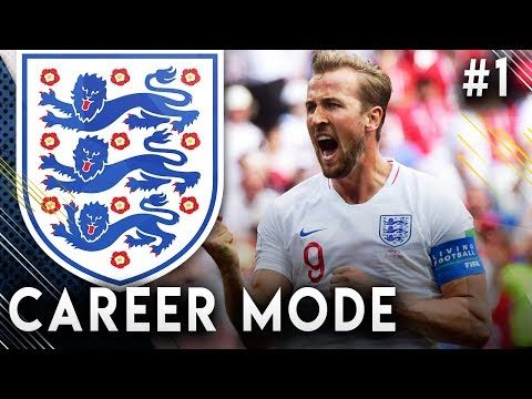 FIFA 19 England Career Mode EP1 - 2022 World Cup! It's Coming Home!!