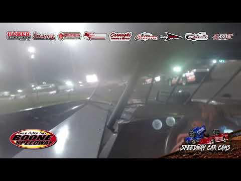 $30,000 HAWKEYE 100 WINNER!! #32 Bobby Pierce - Super Late Model - 5-1-21 Boone Speedway - dirt track racing video image