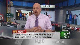 Cramer breaks down the biggest winning stocks from Trump's tariff delay