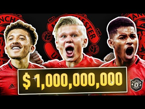 $1 BILLION DOLLAR MANCHESTER UNITED REBUILD FIFA 20 CAREER MODE