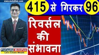 415 से गिरकर 96 रिवर्सल की संभावना | Latest Share Market Tips | Latest Stock Market Tips In Hindi