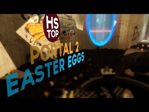Top 10 Easter Eggs ★ Portal 2 - UC2SPrSzWw28jpsxBShFoKMA