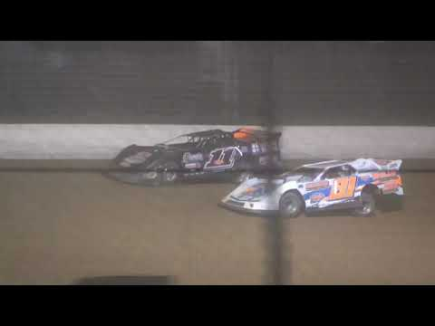 Boone Coleman Gator 50 from Portsmouth Raceway Park, August 21st, 2021. - dirt track racing video image