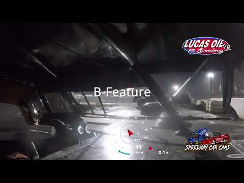 #00 Chris Spalding - Usra Modified - 10-8-2021 Lucas Oil Speedway - In Car Camera - dirt track racing video image