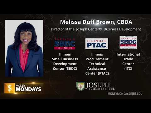 JBS Money Mondays: (Covid-19)Emergency Small Business Loans and Grants with Melissa Duff Brown, CBDA