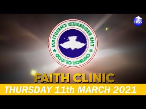 RCCG MARCH 11th 2021 FAITH CLINIC