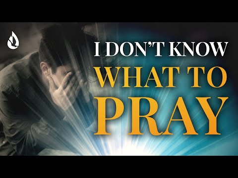 3 Keys to Get Unstuck in Prayer (When You Dont Know What to Pray)