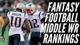 Fantasy football 2019 Deep WR Rankings   Josh Gordon Reinstated and AJ Green's Injury?